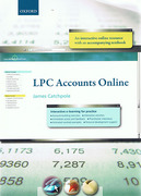 Cover of LPC Accounts Online: Interactive e-learning for Practice