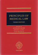 Cover of Principles of Medical Law