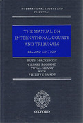 Cover of Manual on International Courts and Tribunals