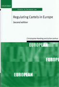 Cover of Regulating Cartels in Europe