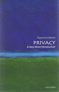Cover of Privacy: A Very Short Introduction