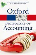 Cover of Oxford Dictionary of Accounting