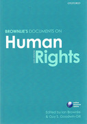 Cover of Brownlie's Documents on Human Rights