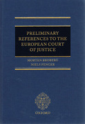 Cover of Preliminary References to the European Court of Justice