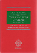 Cover of Millington and Sutherland Williams on The Proceeds of Crime