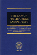 Cover of Law of Public Order and Protest