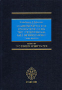 Cover of Schlechtriem and Schwenzer: Commentary on the UN Convention on the International Sale of Goods: CISG