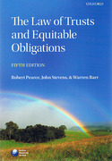 Cover of The Law of Trusts and Equitable Obligations