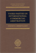 Cover of Third Parties in International Commercial Arbitration