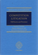 Cover of Brick Court Chambers: Competition Litigation UK Practice and Procedure