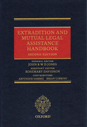 Cover of Extradition and Mutual Legal Assistance Handbook