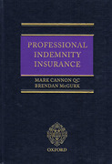 Cover of Professional Indemnity Insurance