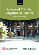 Cover of Bar Manual: Advanced Criminal Litigation in Practice