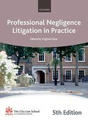 Cover of Bar Manual: Professional Negligence Litigation in Practice