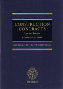 Cover of Construction Contracts: Law and Practice