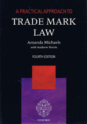 Cover of A Practical Approach to Trade Mark Law