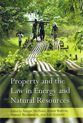 Cover of Property and the Law in Energy and Natural Resources