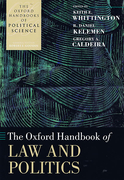 Cover of The Oxford Handbook of Law and Politics