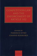 Cover of Competition Law and the Enforcement of Article 102