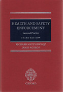 Cover of Health and Safety Enforcement: Law and Practice