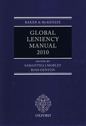 Cover of Baker & McKenzie: Global Leniency Manual 2010