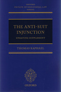 Cover of The Anti-Suit Injunction with 1st Supplement