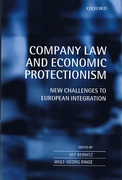 Cover of Company Law and Economic Protectionism: New Challenges to European Integration
