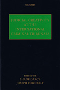 Cover of Judicial Creativity at the International Criminal Tribunals