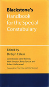 Cover of Blackstone's Handbook for the Special Constabulary