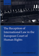Cover of Reception of International Law in the European Court of Human Rights