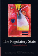 Cover of Regulatory State: Constitutional Implications