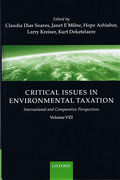 Cover of Critical Issues in Environmental Taxation Volume VIII