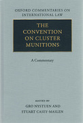 Cover of Convention on Cluster Munitions: A Commentary