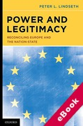 Cover of Power and Legitimacy: Reconciling Europe and the Nation-state (eBook)