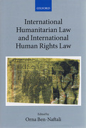 Cover of International Humanitarian Law and International Human Rights Law