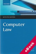 Cover of Computer Law (eBook)