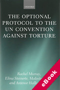 Cover of The Optional Protocol to the UN Convention Against Torture (eBook)