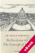 Cover of Reflections on 'The Concept of Law'  (eBook)