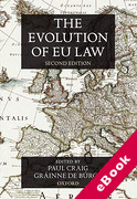 Cover of The Evolution of EU Law (eBook)