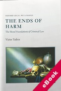 Cover of The Ends of Harm: The Moral Foundations of Criminal Law (eBook)