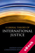 Cover of A Liberal Theory of International Justice (eBook)