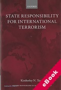 Cover of State Responsibility for International Terrorism  (eBook)
