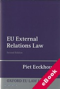 Cover of EU External Relations Law (eBook)