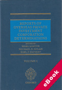 Cover of Reports of Overseas Private Investment Corporation Determinations (eBook)