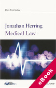 Cover of Core Text: Medical Law (eBook)