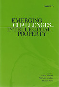 Cover of Emerging Challenges in Intellectual Property