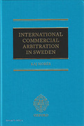 Cover of International Commercial Arbitration in Sweden