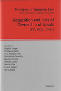 Cover of Principles of European Law Volume 10: Acquisition and Loss of Ownership of Goods