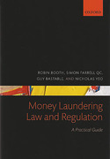 Cover of Money Laundering Law and Regulation: A Practical Guide