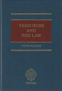 Cover of Terrorism and the Law